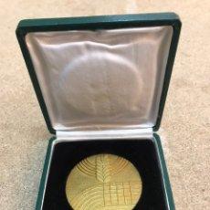 Medallas condecorativas: MEDALLA CONMEMORATIVA DE LA REAL FEDERACIÓN ESPAÑOLA DE ATLETISMO/ COPA DE EUROPA AÑO 1970. Lote 206119125
