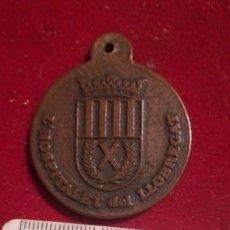 Medallas condecorativas: MEDALLA HOGAR DEL PENSIONISTA DE LA SEGURIDAD SOCIAL HOSPITALET DE LLOBREGAT. Lote 207177213