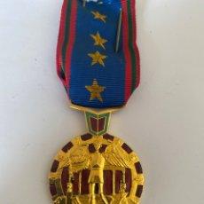 Medallas condecorativas: MD-15. MEDALLA CONDECORACIÓN FRANCESA COMMERCE INDUSTRIE FINANCES. METAL DORADO. CON BANDA.. Lote 207382270