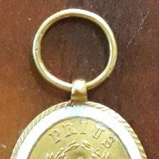 Medallas condecorativas: MEDALLA NOTARIAL ESPAÑA ISABEL II ORO 18 KL NIHIL PRIUS FIDE 1862 RRR +++ UNICA. Lote 207581056