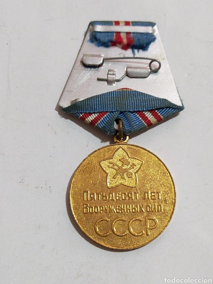 Medallas condecorativas: MEDALLA MILITAR SOVIETICA 1967 - Foto 2 - 209837231