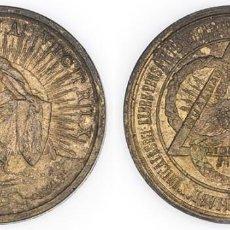 Medallas condecorativas: 1888 MEDALLA SALVE ITALIA VICTRIX SC- EN REPRESENTACIÓN DE 130000 ESPAÑOLES ENEMIGOS DE LA TEOCRACIA. Lote 210357390