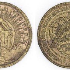 Medallas condecorativas: 1888 MEDALLA SALVE ITALIA VICTRIX EBC EN REPRESENTACIÓN DE 130000 ESPAÑOLES ENEMIGOS DE LA TEOCRACIA. Lote 210357512