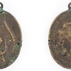 Medallas condecorativas: S. XIX-PPIOS XX. MEDALLA A LA APLICACIÓN, AL MÉRITO Y AL HONOR. PÁTINA OSCURA. Lote 210393100