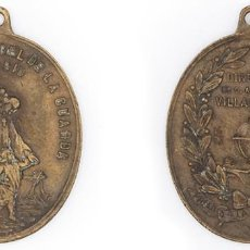 Medallas condecorativas: S. XIX-PPIOS XX. MEDALLA PREMIO A LA APLICACIÓN DEL COLEGIO DEL SANTÍSIMO ÁNGEL DE LA GUARDA (MADRID. Lote 210393490