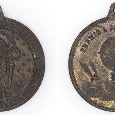 Medallas condecorativas: S. XIX-PPIOS XX. MEDALLA PREMIO A LA APLICACIÓN DEL COLEGIO DE SAN ISIDORO. Lote 210393530