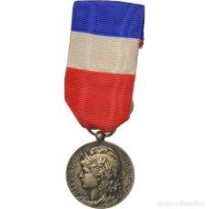 Medallas condecorativas: FRANCIA, HONNEUR-TRAVAIL, RÉPUBLIQUE FRANÇAISE, MEDALLA, MUY BUEN ESTADO. Lote 210637736