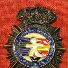 Medallas condecorativas: DIRECCION GENERAL DE LA POLICIA NACIONAL - AGRUPACIÓN DEPORTIVA - 101 GR. 9 X 7 CMS.. Lote 210951335