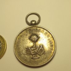 Medallas condecorativas: MEDALLA ESTUDIANTIL LECTURA CIENCIA Y ARTES SIN INSCRIPCIÓN. Lote 211401586