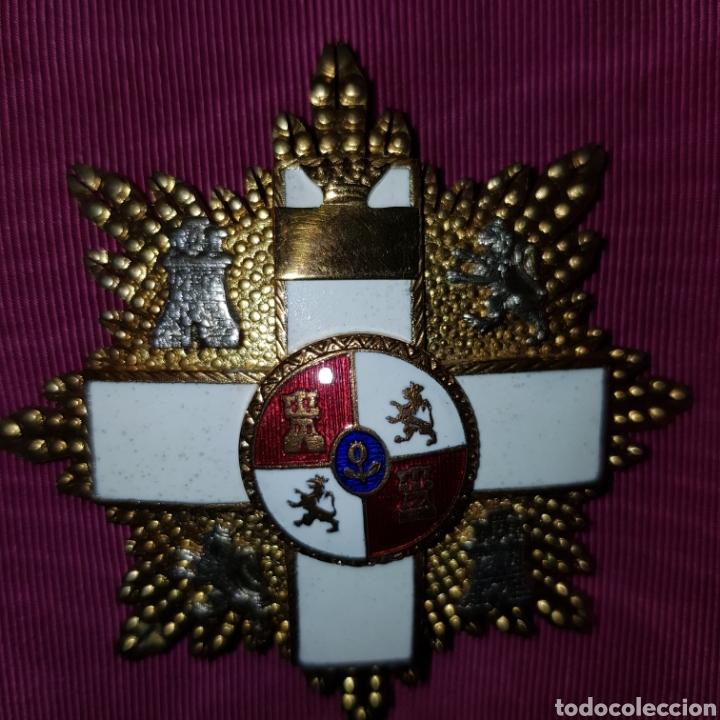 Medallas condecorativas: Gran Cruz de 1ª Clase Orden del Mérito Militar con distintivo blanco 6 cm - Foto 4 - 211585624