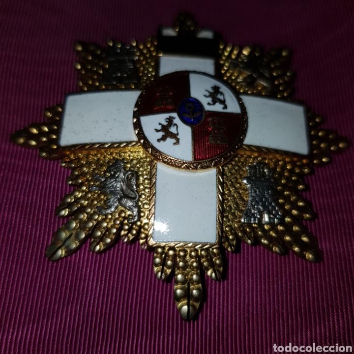 Medallas condecorativas: Gran Cruz de 1ª Clase Orden del Mérito Militar con distintivo blanco 6 cm - Foto 5 - 211585624