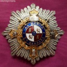 Medaglie condecorativas: CRUZ DE GUERRA, PLACA AL MÉRITO EN CAMPAÑA. Lote 211590162