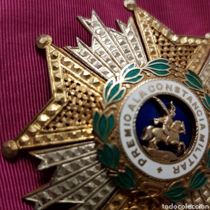 Medallas condecorativas: Gran Cruz Placa Orden de San Hermenegildo A la Constancia Militar - Foto 4 - 211593469