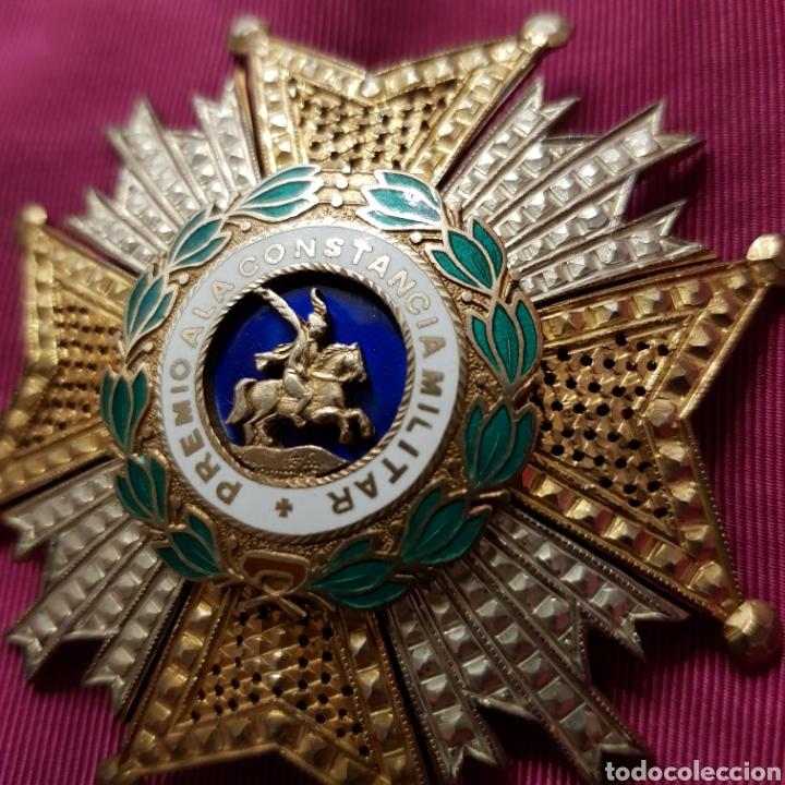 Medallas condecorativas: Gran Cruz Placa Orden de San Hermenegildo A la Constancia Militar - Foto 5 - 211593469