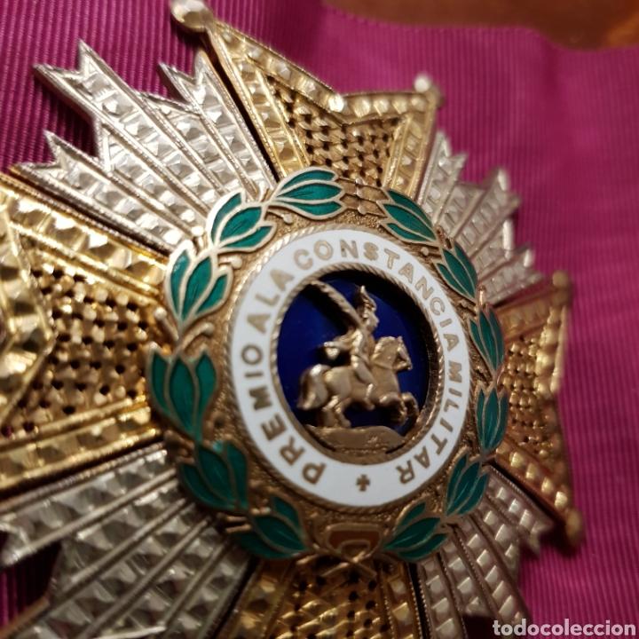 Medallas condecorativas: Gran Cruz Placa Orden de San Hermenegildo A la Constancia Militar - Foto 6 - 211593469