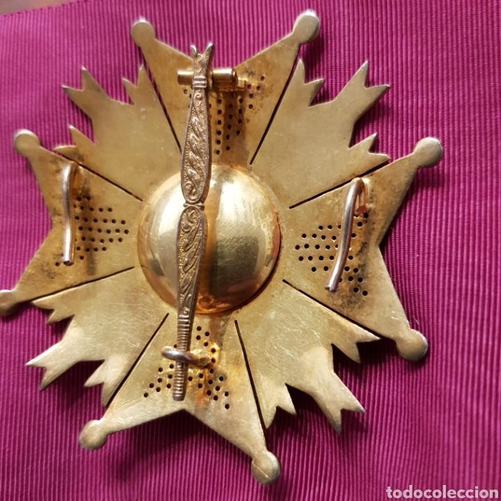 Medallas condecorativas: Gran Cruz Placa Orden de San Hermenegildo A la Constancia Militar - Foto 7 - 211593469