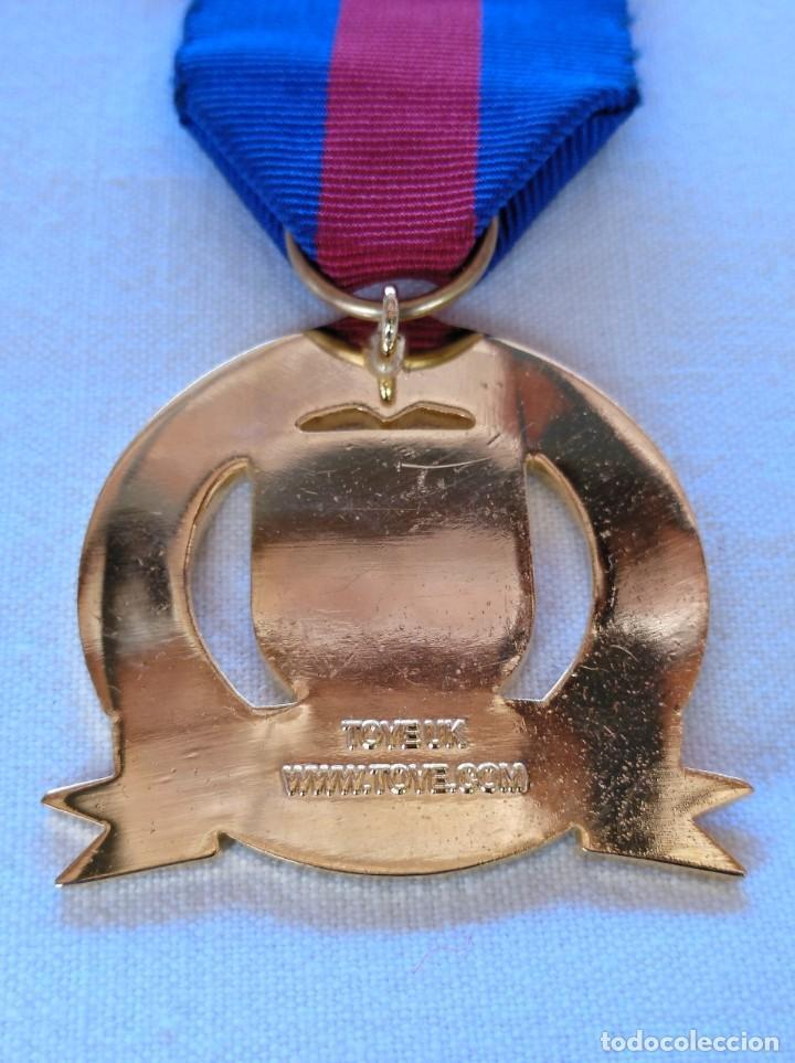 Medallas condecorativas: MEDALLA MASÓNICA BRITÁNICA - Foto 2 - 212630627