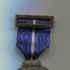 Medallas condecorativas: CRUZ DE PLATA AL MERITO CIVIL I ETUI. EN SU CAJA ORIGINAL ÉPOCA FRANCO ? O ALFONSO? MUY RARA MEDALLA. Lote 215335906