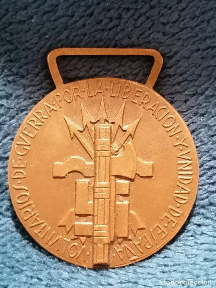 MEDALLA VOLUNTARIOS DE GUERRA POR LA LIBERACIÓN Y UNIDAD DE ESPAÑA. CUERPO EXPEDICIONARIO. 1936 (Numismática - Medallería - Condecoraciones)