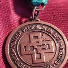 Medallas condecorativas: MEDALLA PREVENCIÓN EN RUTA. Lote 221107581