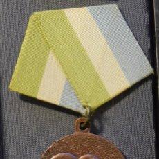 Medallas condecorativas: MED92-2 CUBA DISTINCION POR EL SERVICIO EN LAS FUERZAS ARMADAS REVOLUCIONARIAS 3 GRADO. Lote 222684408