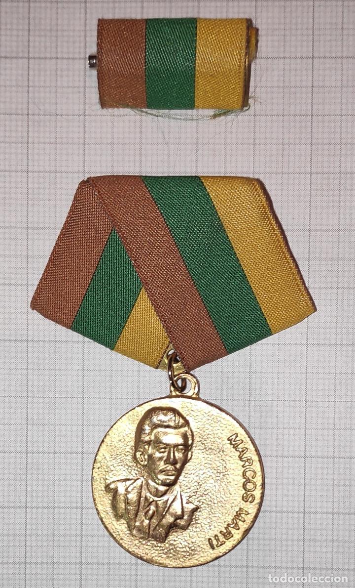 MED30 CUBA DISTINCION MARCOS MARTI (Numismática - Medallería - Condecoraciones)