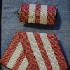 Medallas condecorativas: MED55 CUBA DISTINCION JOSE MARIA PEREZ. Lote 226326410