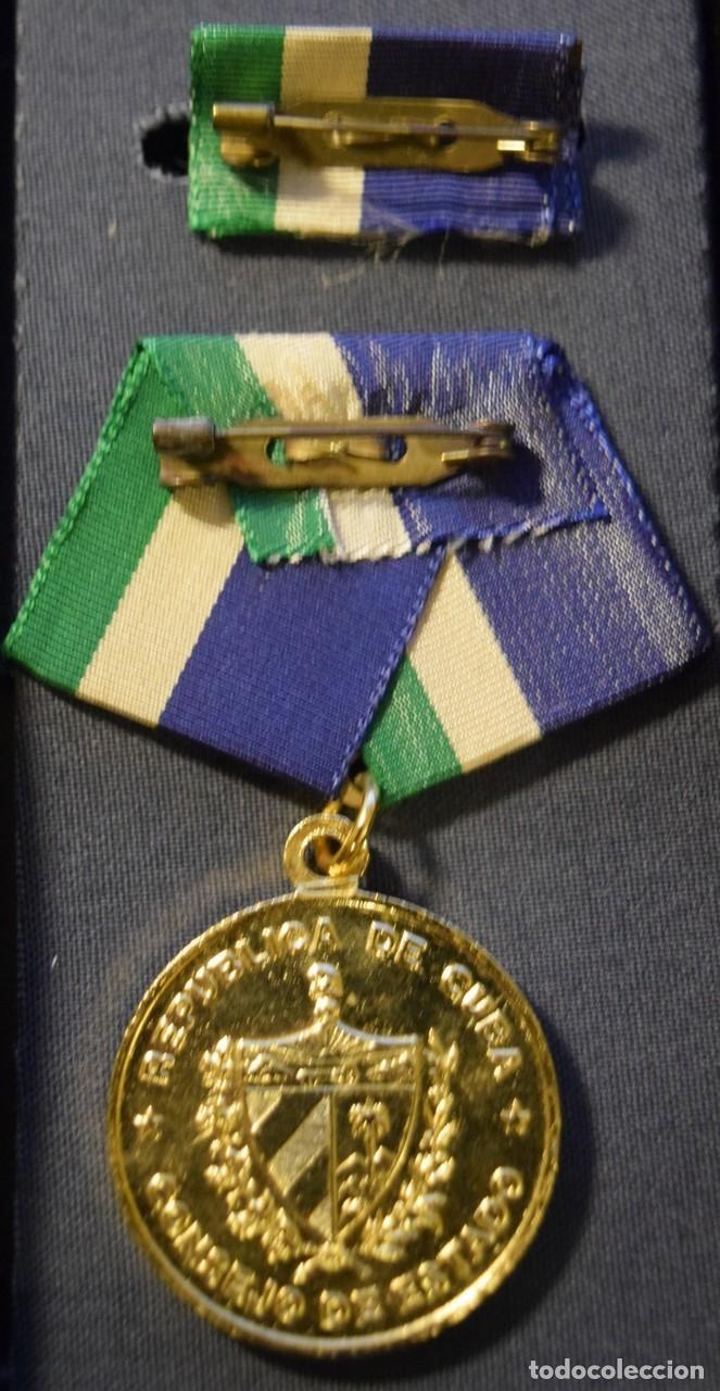 Medallas condecorativas: med81 Cuba Medalla Olo Pantoja de 1 grado - Foto 2 - 226326483
