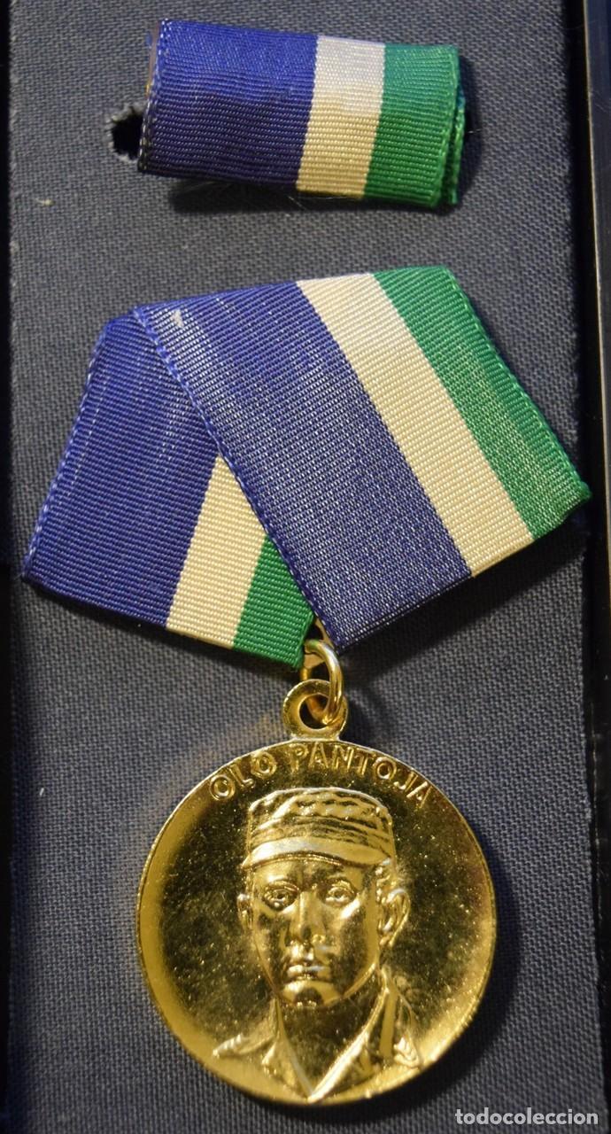 MED81 CUBA MEDALLA OLO PANTOJA DE 1 GRADO (Numismática - Medallería - Condecoraciones)
