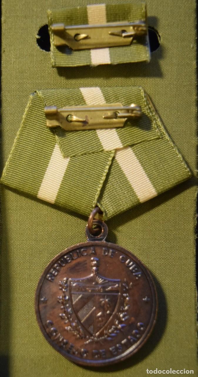 Medallas condecorativas: med91 Cuba Ignacio Agramonte 3 grado - Foto 2 - 226326513