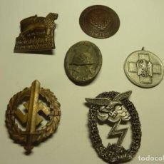 Medallas condecorativas: 6 MEDALLAS ALEMANAS NAZIS POSIBLE REPLICAS. Lote 229420875