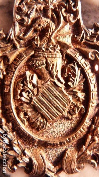PRECIOSA MEDALLA CAMARA AGRARIA PROVINCIAL VALENCIA,PLATA.ORFEBRE, 65MM. 53 GRM. (Numismática - Medallería - Condecoraciones)