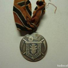 Medallas condecorativas: MEDALLA ALEMANA SERVICIO DE REICHSNÄHRSTAND LANDESBAVERNSCHAFT KURMARK (PLATA). Lote 235020405
