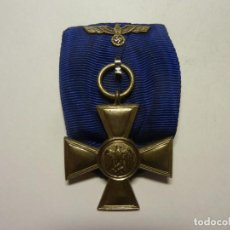 Medallas condecorativas: MEDALLA ALEMANA 2ªGUERRA MUNDIAL 18 AÑOS DE SERVICIO. Lote 235020575