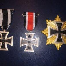 Medallas condecorativas: LOTE DE TRES MEDALLAS PRIMERA GUERRA MUNDIAL. Lote 235405840
