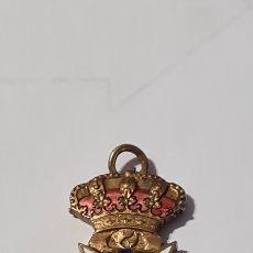Medallas condecorativas: MEDALLA DE SANIDAD MILITAR DE LA PATRONA DEL CUERPO PERPETUO SOCORRO PEQUEÑOS DESPERFECTOS EN EL ESM. Lote 235548665