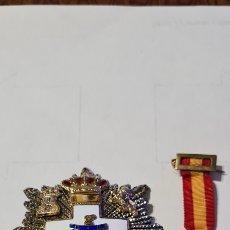 Medallas condecorativas: MEDALLA PLACA Y MINIATURA AL MÉRITO MILITAR. Lote 235558690
