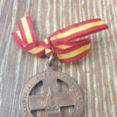 Medallas condecorativas: MEDALLA DE FRENTE Y HOSPITALES.BILBAO.19-VI-37. Lote 241239805