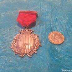 Medallas condecorativas: PRECIOSA MEDALLA DE PLATA CON CONTRASTE COLEGIO DE NOTARIOS. Lote 244787135