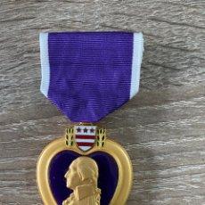 Medallas condecorativas: CORAZÓN PÚRPURA. Lote 245073025