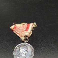 Medallas condecorativas: MEDALLA AUSTRO-HUNGARA EN PLATA.. Lote 245612130