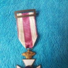 Medallas condecorativas: MEDALLA PREMIO A LA CONSTANCIA MILITAR SAN HERMENEGILDO - CORONA REAL. Lote 246489540