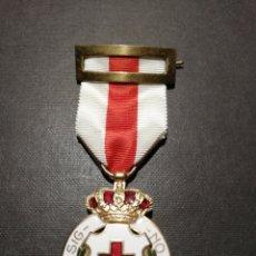 Medallas condecorativas: MEDALLA CRUZ ROJA EPOCA ALFONSO XIII. Lote 247001375