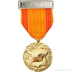 Medallas condecorativas: FRANCIA, INSIGNE DU RÉFRACTAIRE, MEDALLA, 1939-1945, SIN CIRCULACIÓN, BRONCE. Lote 253549585