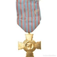 Medallas condecorativas: FRANCIA, CROIX DU COMBATTANT, MEDALLA, 1939-1945, MUY BUEN ESTADO, BRONCE. Lote 253551975