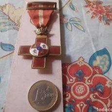 Medallas condecorativas: PRECIOSO Y ANTIGUA CONDECORACIÓN MILITAR. Lote 253597150