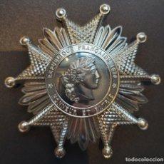 Medallas condecorativas: PLACA GRAN CRUZ DE LA LEGIÓN DE HONOR DE FRANCIA. Lote 256167325