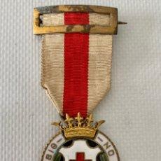Medallas condecorativas: MEDALLA ESMALTADA CRUZ ROJA IN HOC SIG NO SALUS.. Lote 258964490