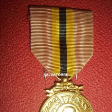Medallas condecorativas: MEDALLA CONMEMORATIVA BELGICA. REY LEOPOLDO. 1865.1909. Lote 268767304