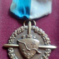 Medallas condecorativas: ALICANTE ANTIGUA MEDALLA P.P. JESUITAS COLEGIO INMACULADA PREMIO ESCOLAR AÑOS 60. Lote 268943449